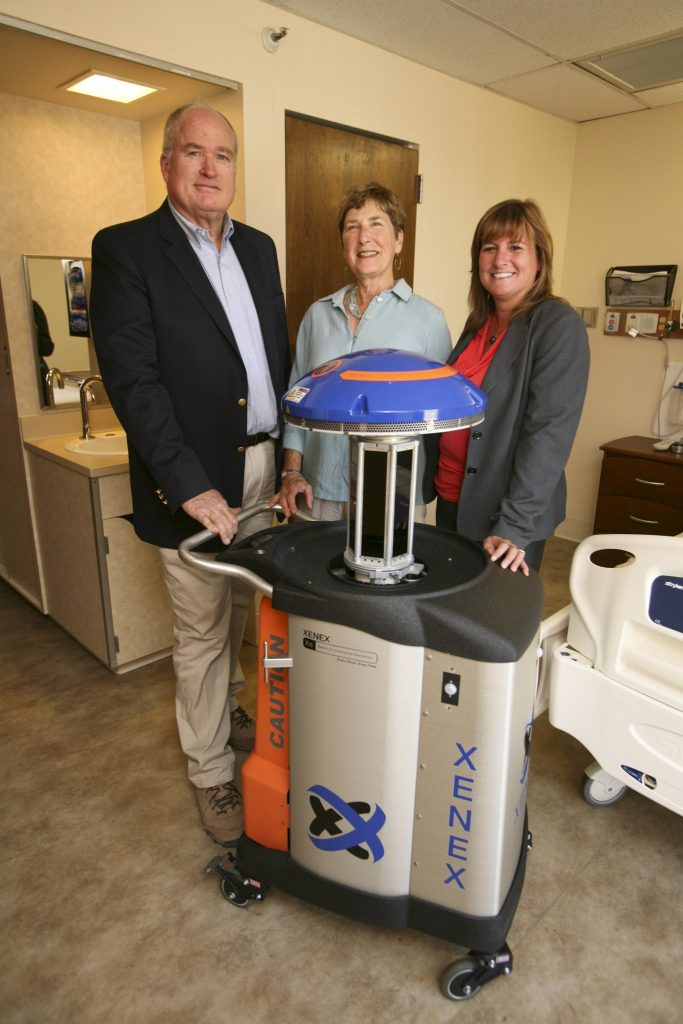 "Foundation Supports Patient Safety – Xenex ""Germ Zapping"" Robot"